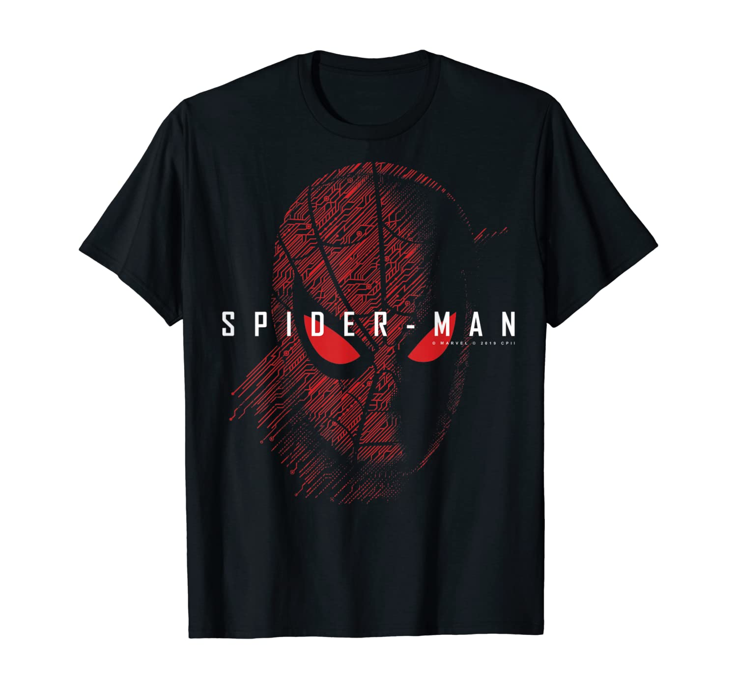 Marvel Spider-Man far from Home Tech Spider-Man Logo T-Shirt