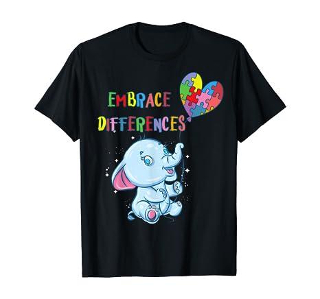Embrace Differences – Autism Awareness T-Shirt