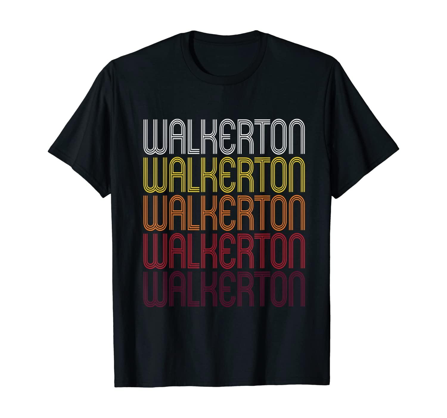 Walkerton, IN | Vintage Style Indiana T-shirt