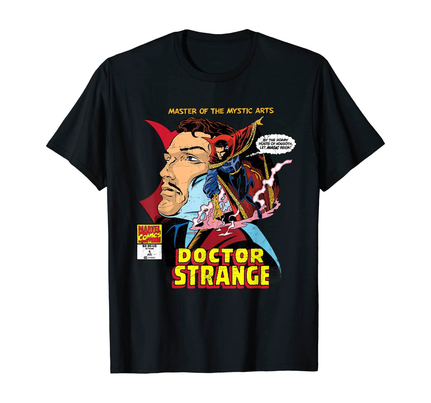 Marvel Comics Doctor Strange Master of Mystic Arts T-Shirt