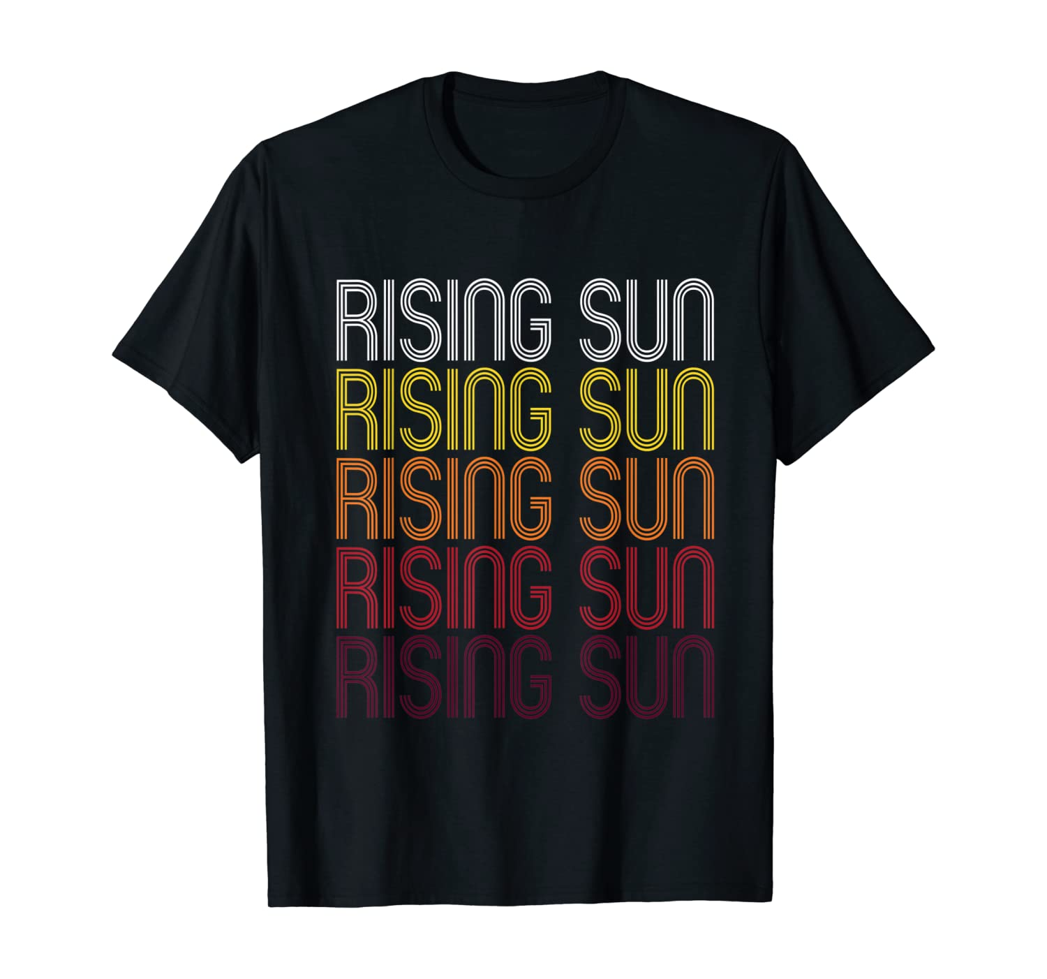 Rising Sun, IN | Vintage Style Indiana T-shirt