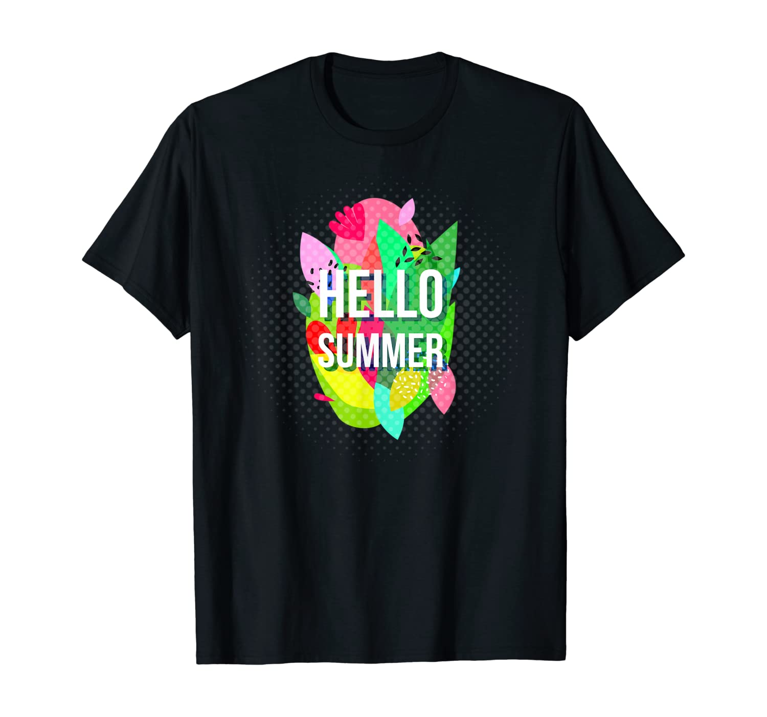 Hello Summer Vacation For Beach Time Shirts
