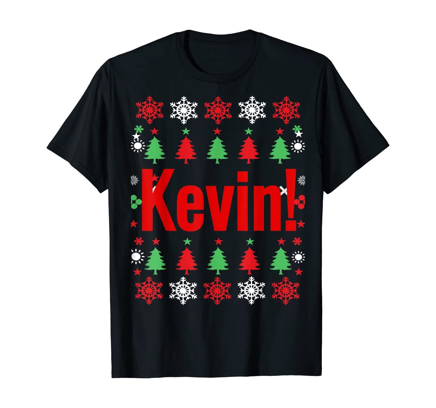 KEVIN Fun X-Mas Holiday Gift T-Shirt for Movie lovers T-Shirt