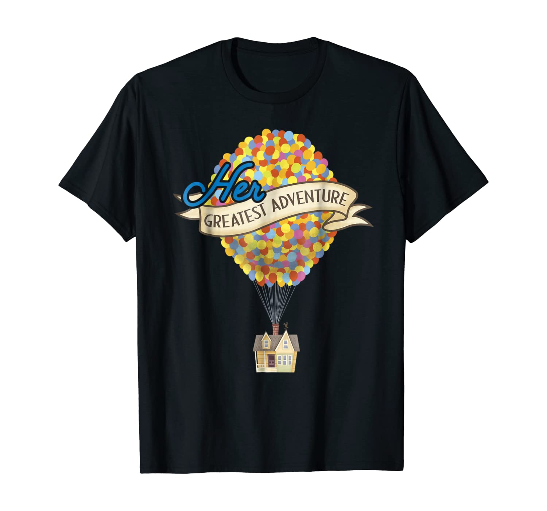 Disney Pixar Up Her Greatest Adventure House Graphic T-Shirt