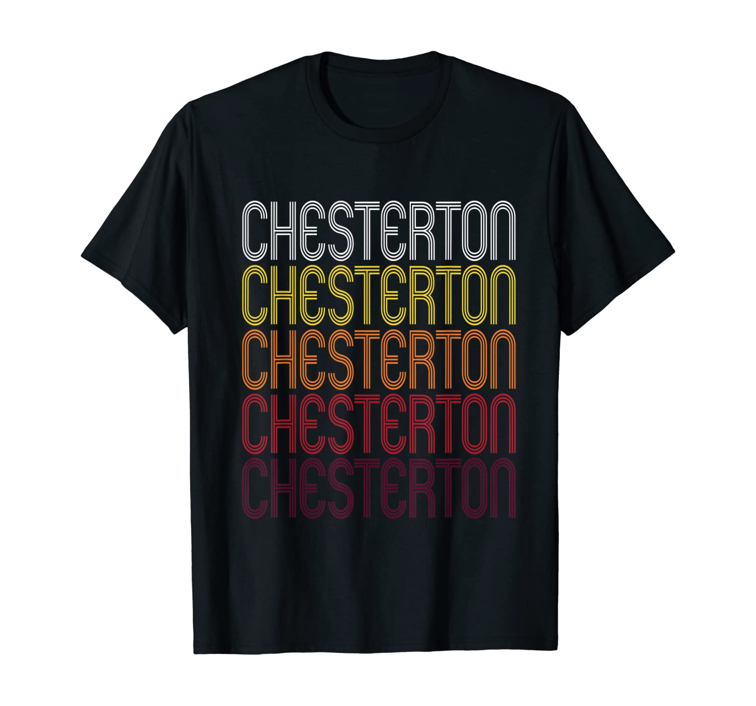 Chesterton, IN | Vintage Style Indiana T-shirt