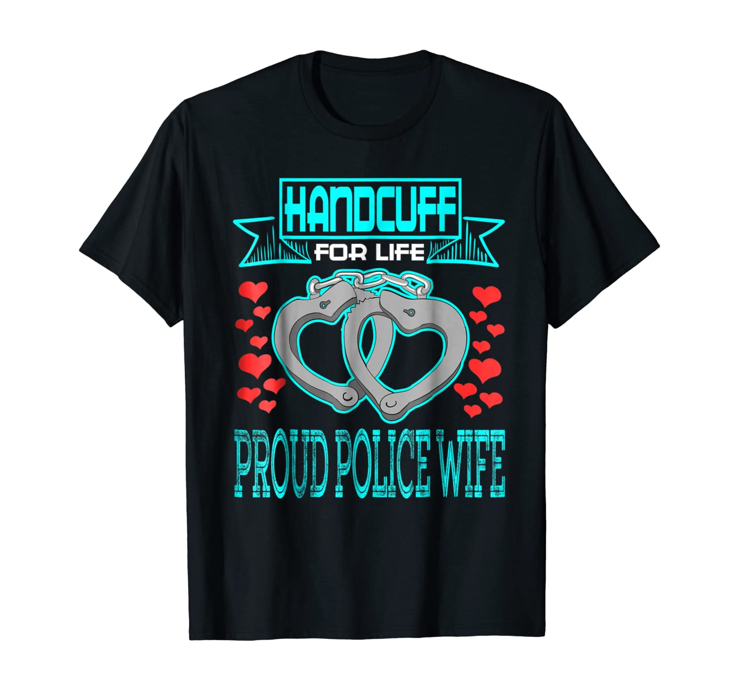 Proud Police Wife State Trooper Law Officer Police Shirts