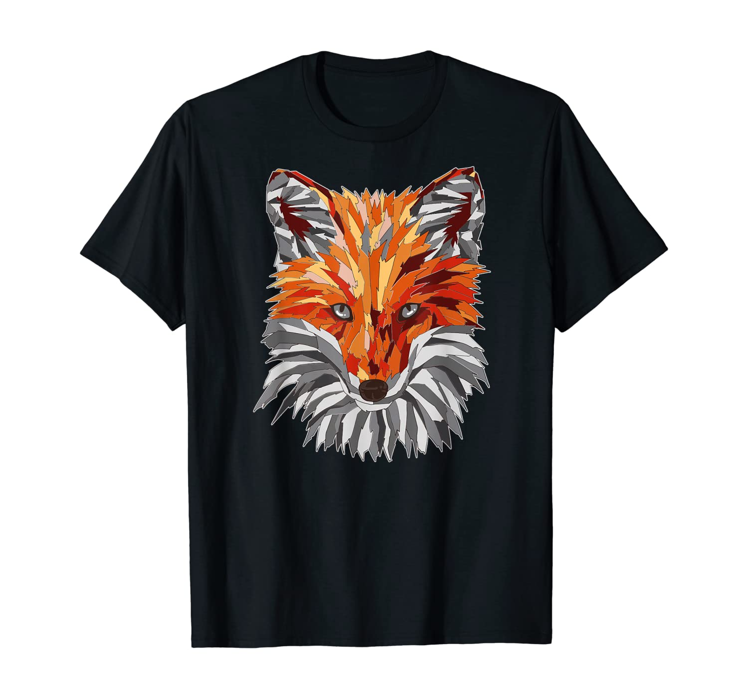 Fox in nature for hunter or forester and camping gift T-Shirt