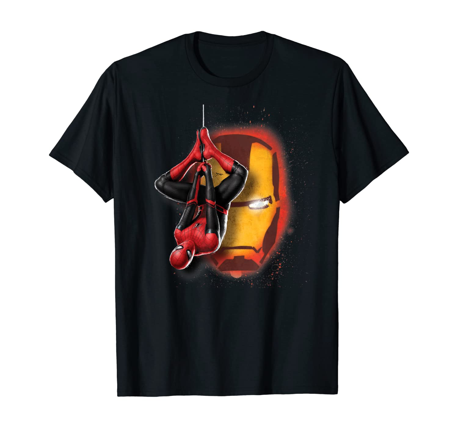 Marvel Spider-Man: Far From Home Iron Man Graffiti T-Shirt