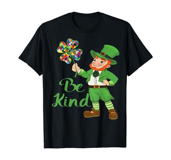 Be Kind – Irish Theme Autism Awareness T-Shirt