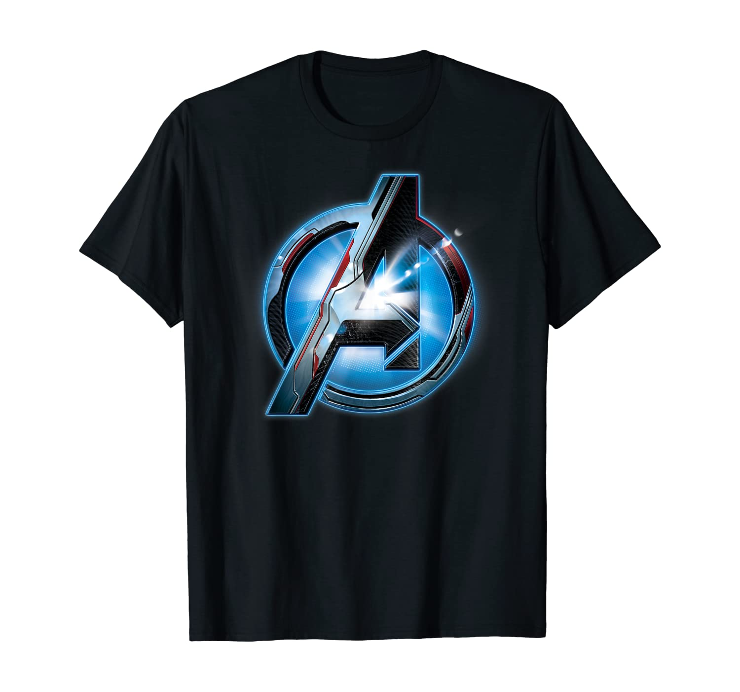 amazon com marvel avengers endgame uniform logo t shirt clothing marvel avengers endgame uniform logo t shirt