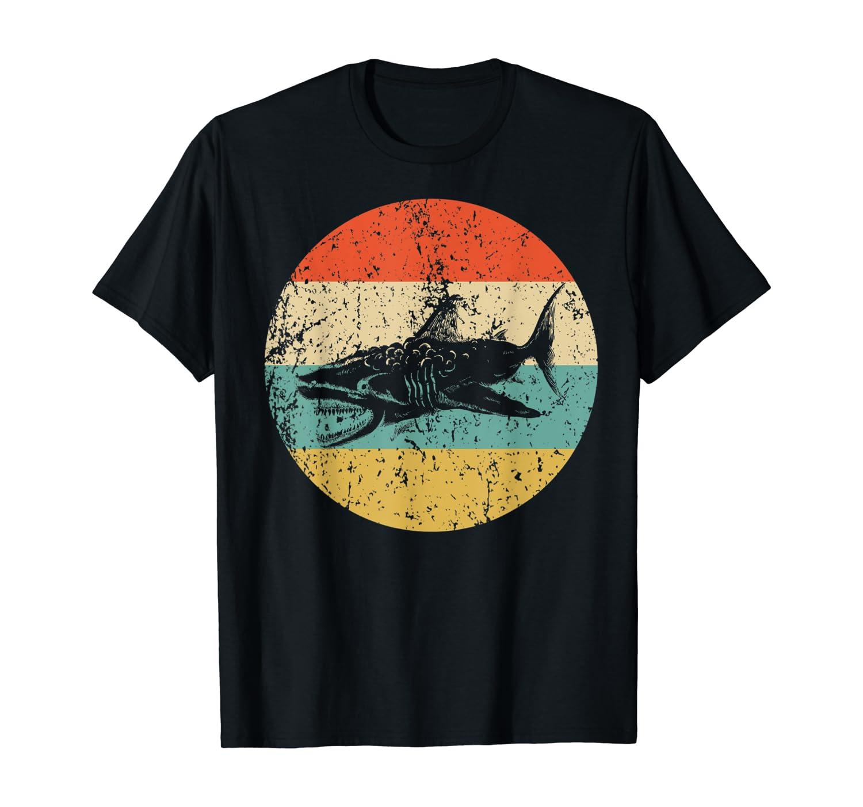 Great White Shark Retro Style Megalodon T-Shirt