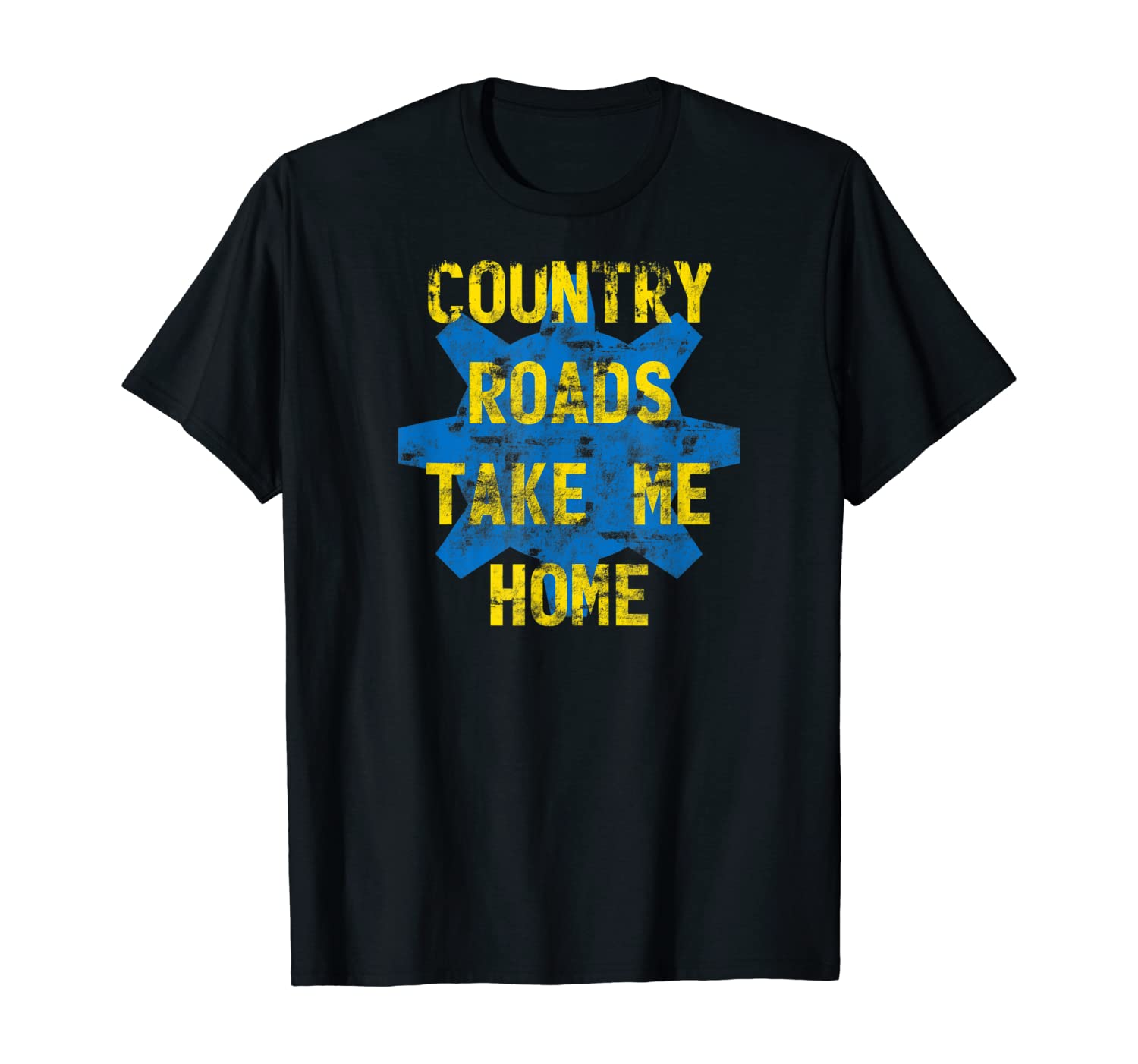 MathWare Country Roads Take Me Home Vault Gear 76 Gift T-Shirt
