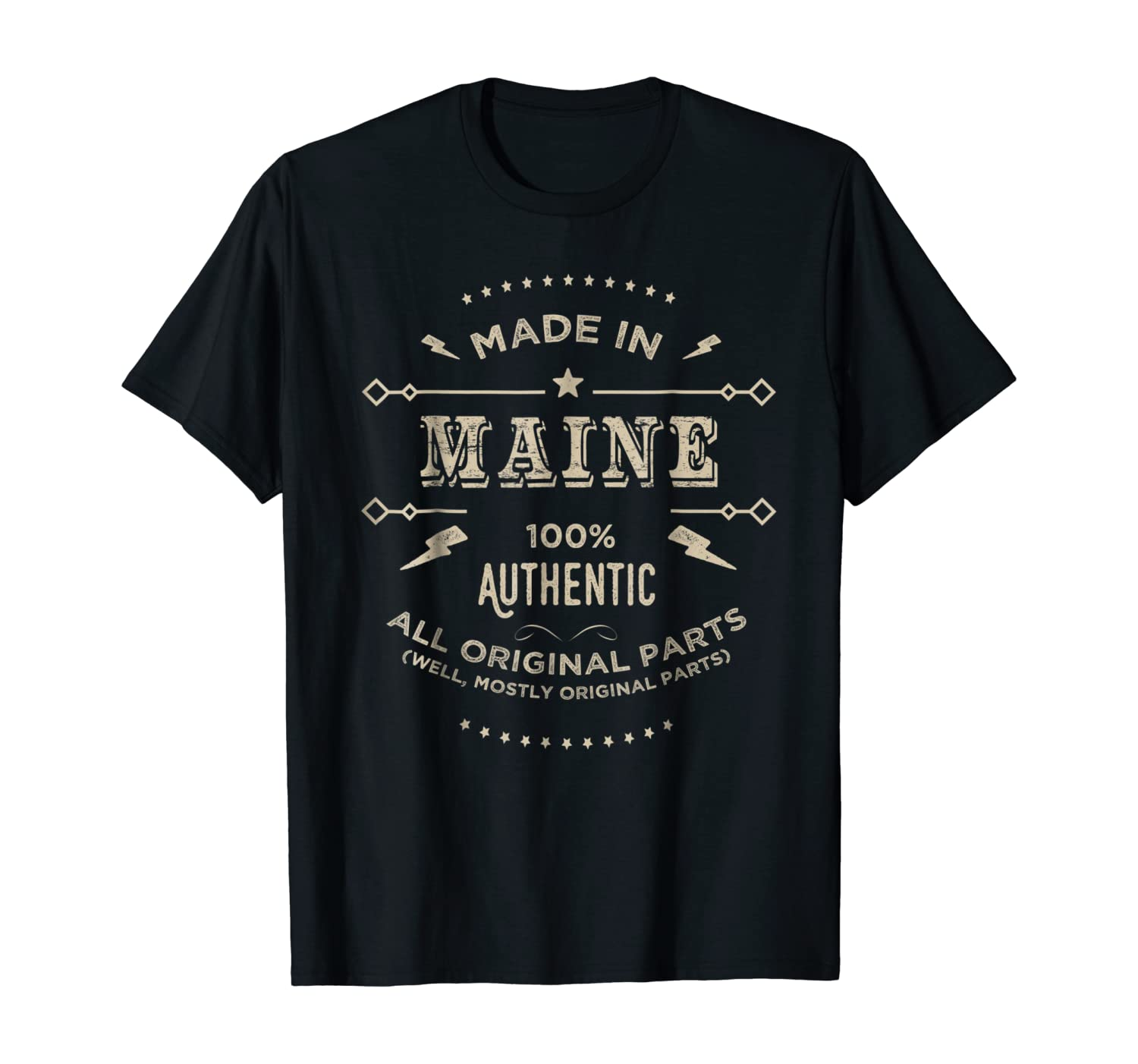 Made In Maine Is My Home T Shirt