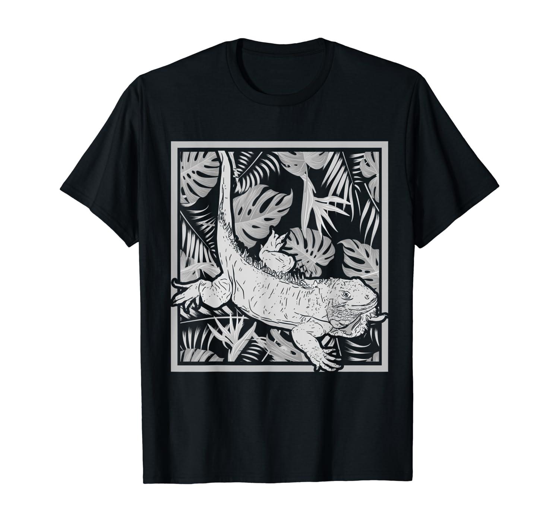 Pet Lizard Iguana Reptil Gift Iguana T-Shirt