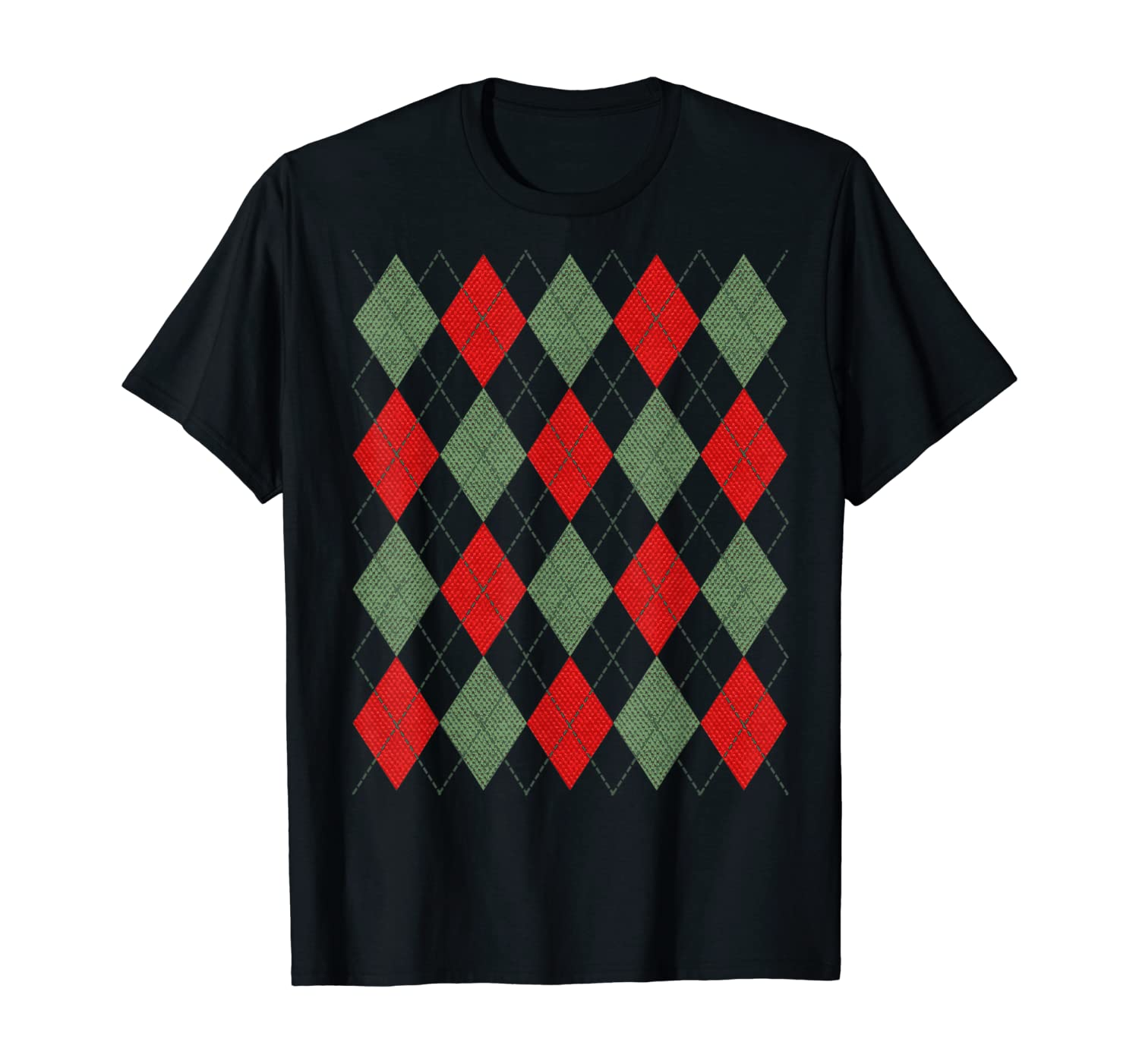 Ugly Argyle Christmas T-Shirt
