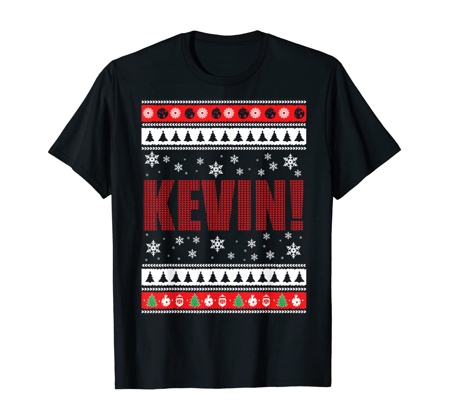 KEVIN Fun X-Mas Holiday Gift T-Shirt for Movie lovers