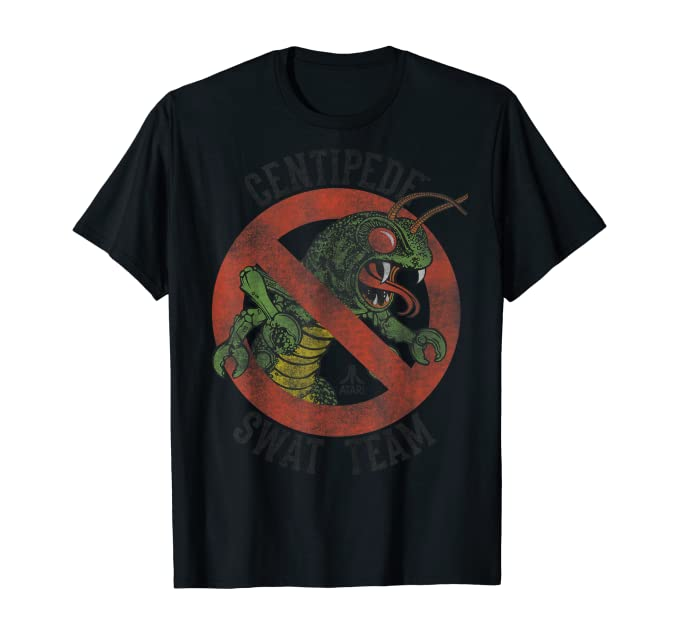 Atari Centipde Swat Team T-shirt