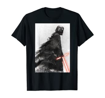 Amazon Com Star Wars The Rise Of Skywalker Kylo Ren Memory T Shirt Clothing