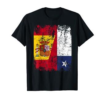 CHILE Camiseta ESPAÑA BANDERA de la AMISTAD CHILE Camiseta: Amazon.es: Ropa y accesorios