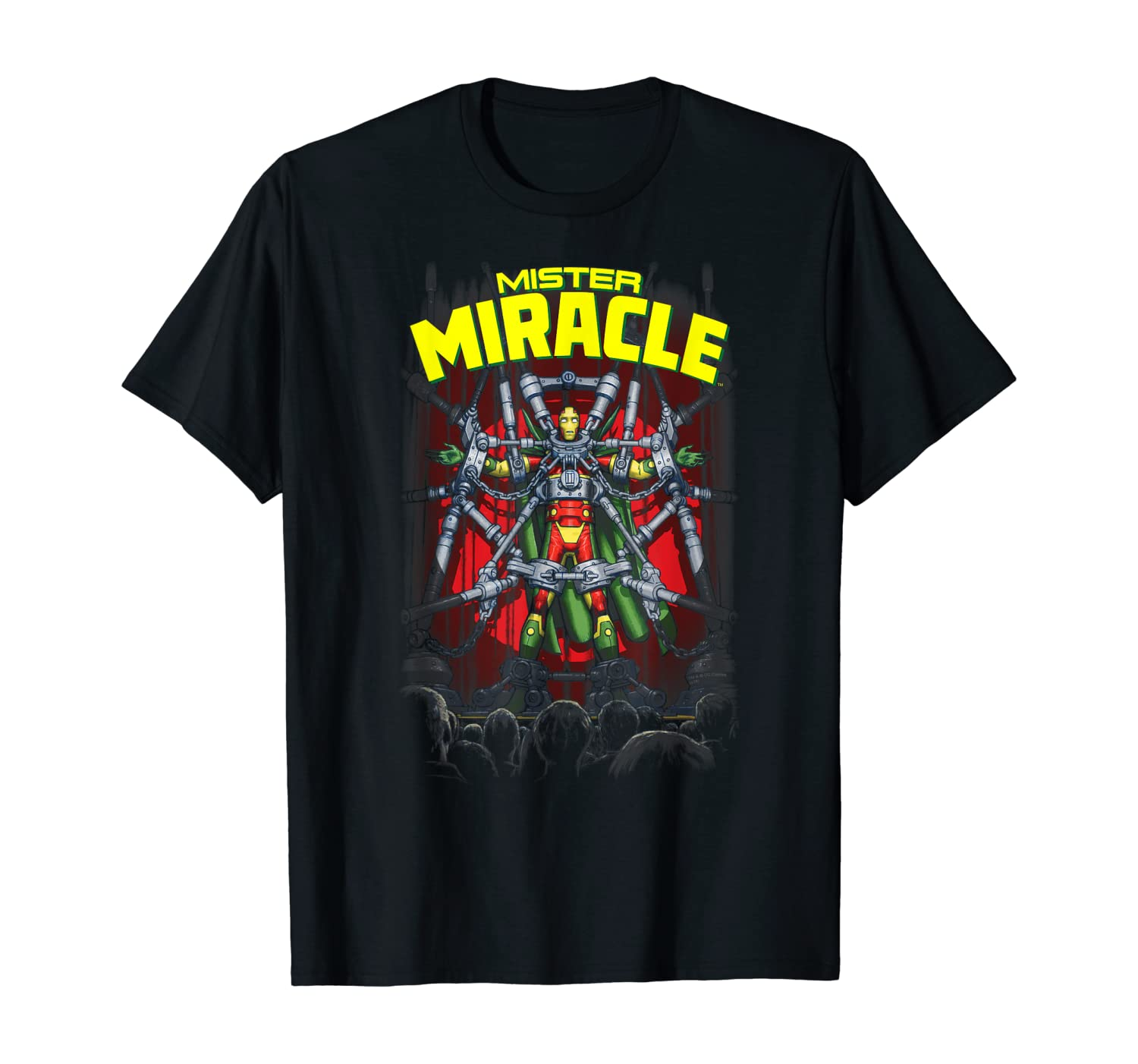 Top 8 Mister Miracle Shirt