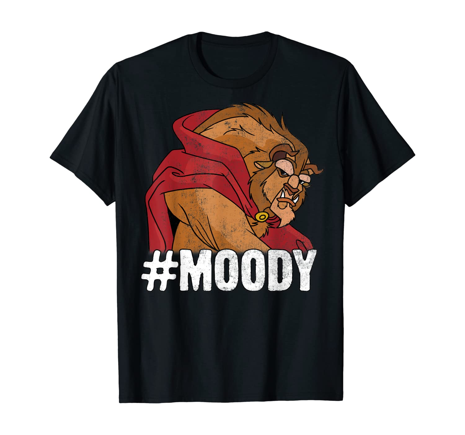 Disney Beauty and the Beast #Moody Beast Portrait T-Shirt