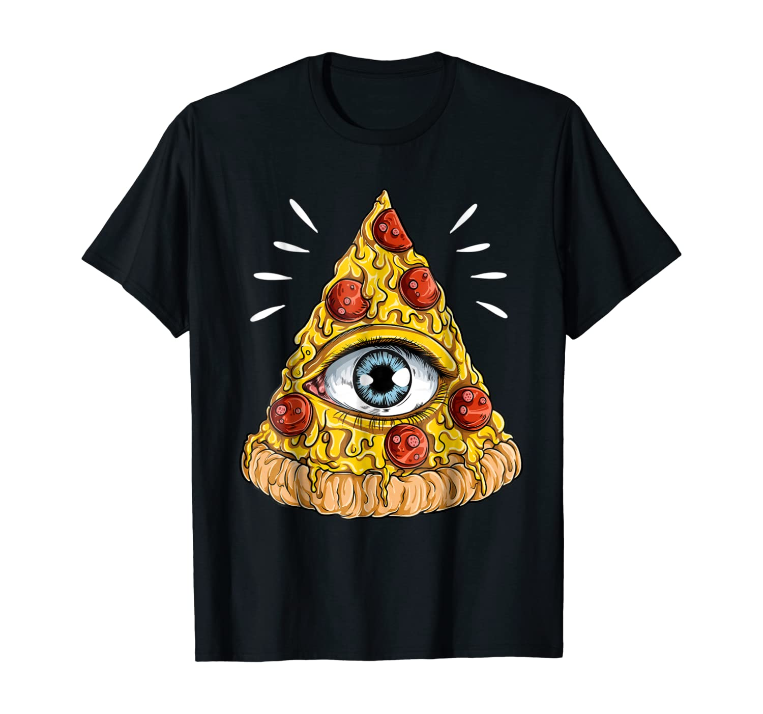 Shane Dawson All-Seeing Eye Pizza T-shirt
