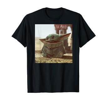 Pocket Baby Yoda Mandalorian T Shirt Star Wars T-shirts and Baby Bodysuit