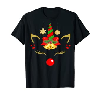 Amazon.com: Christmas Gifts Toys Bell Bow Tie Unicorn Nailed It Unicorn T-Shirt: Clothing