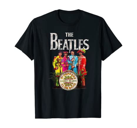 Amazon.com: The Beatles Lonely Hearts Sergeant T-shirt: Clothing