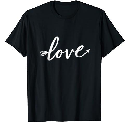 Women's Love Valentines Day Anniversary Shirt T Shirt