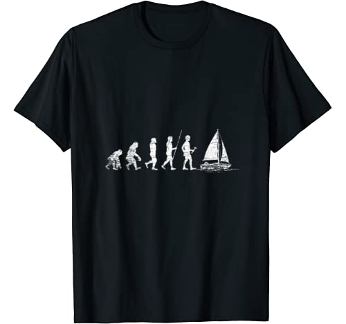 Evolution żagiel t-shirt dla żeglarzy prezent: Odzież