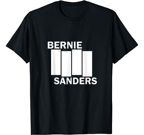 Bernie 2020 Not Me Bernie Sanders Black American Flag T Shirt