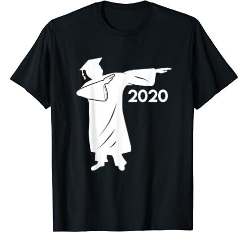 Dabbing Graduation Class Of 2020 T Shirt Tee Gift T Shirt