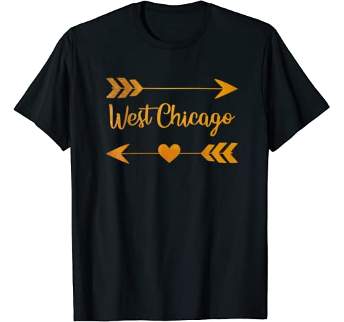 West Chicago Il Illinois Funny City Home Usa Women Gift T Shirt