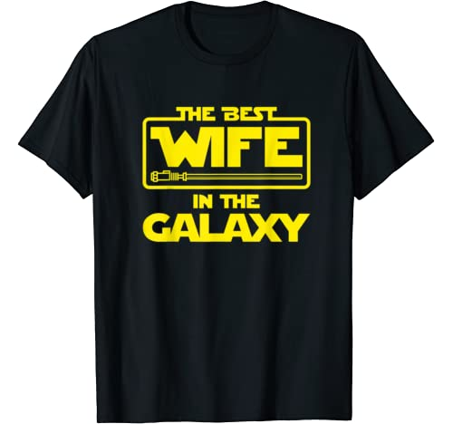 Best Wife In The Galaxy Valentine Christmas T Shirt