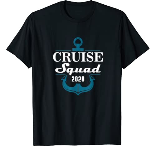 Cruise Squad 2020 Family Reunion Matching Vacation T Shirt