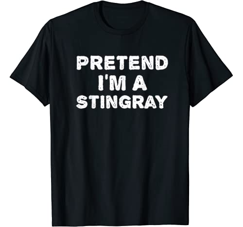 Pretend I'm A Stingray Funny Halloween Diy Costume T Shirt