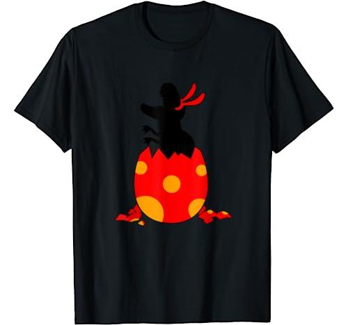 Funny Easter Egg Rabbit Bunny T Rex Dinosaur Gift T Shirt