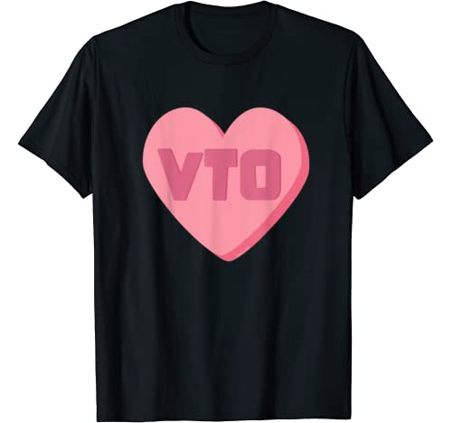 Vto Heart Valentines Day Candy Swagazon Associate Coworkers T Shirt