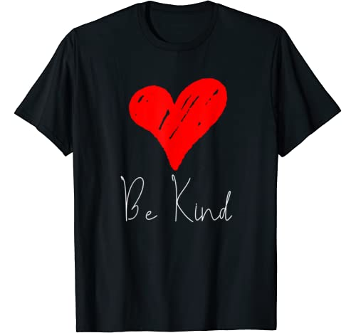 Be Kind Cute Heart Valentines Day Family Celebrate Love T Shirt