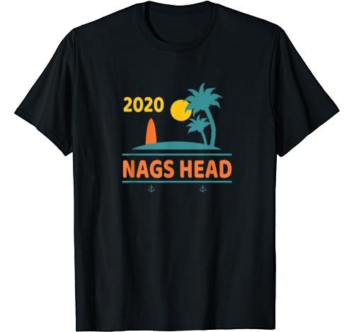 2020 Nags Head Vacation North Carolina Family Trip Gift T Shirt