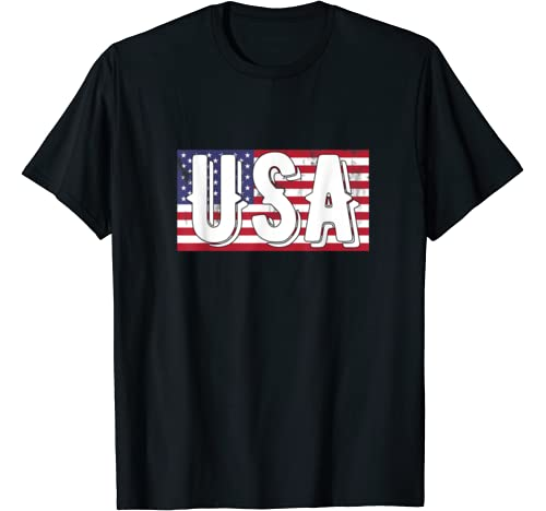 Usa Patriotic 4th Of July American Flag Vintage Us Patriot T Shirt