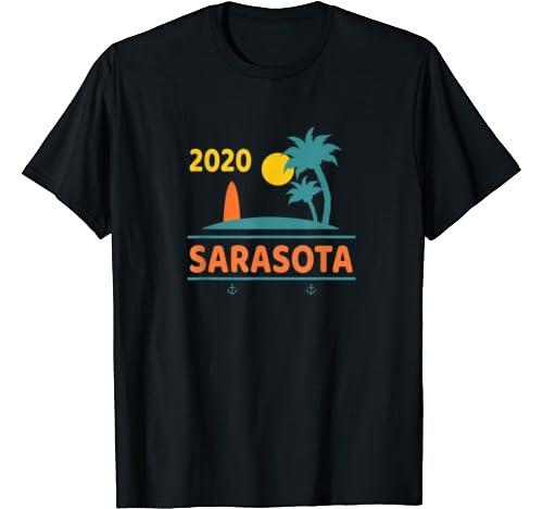 2020 Sarasota Vacation   Florida Family Trip Gift T Shirt
