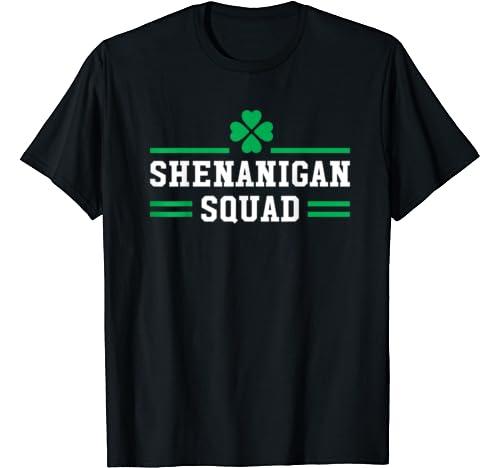 Shenanigan Squad Funny Matching Team St Patricks Day 2020 T Shirt