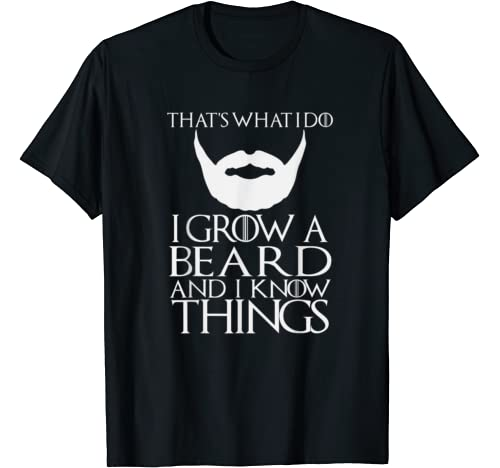 Thats What Beard Things Shirt product image