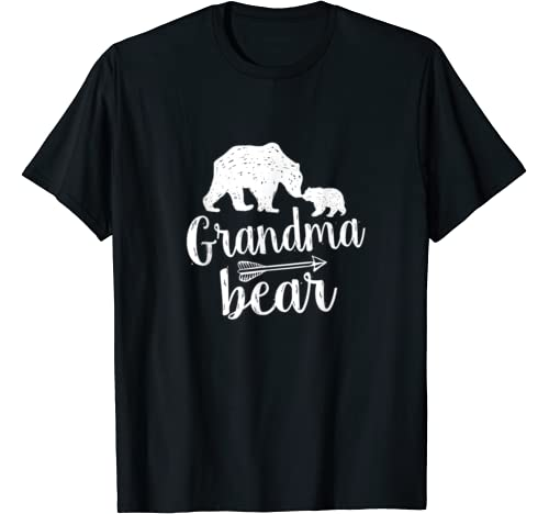 Cute Grandma Bear Mother's Day Gift T Shirt