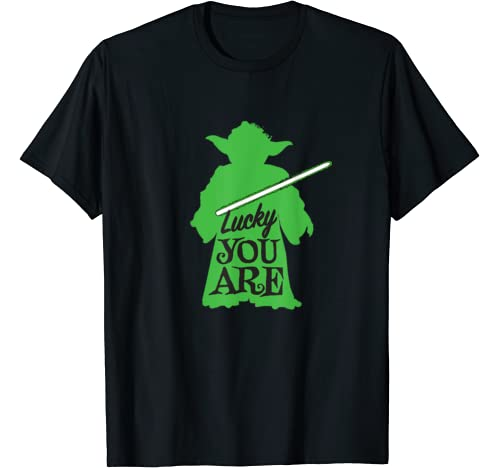 Star Wars Yoda Lucky You Are Green St. Patrick's Day T Shirt