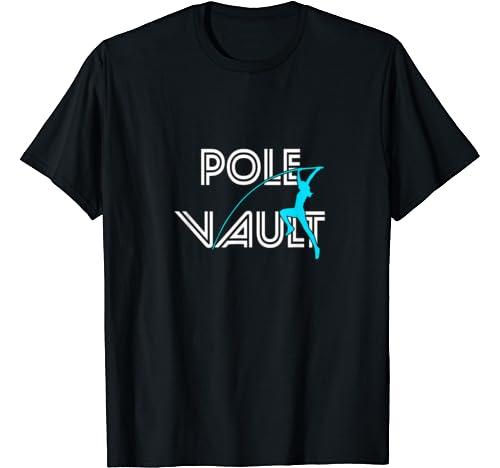 Pole Vault   Fun Pole Vaulting Hoodie For Girl Vaulters T Shirt