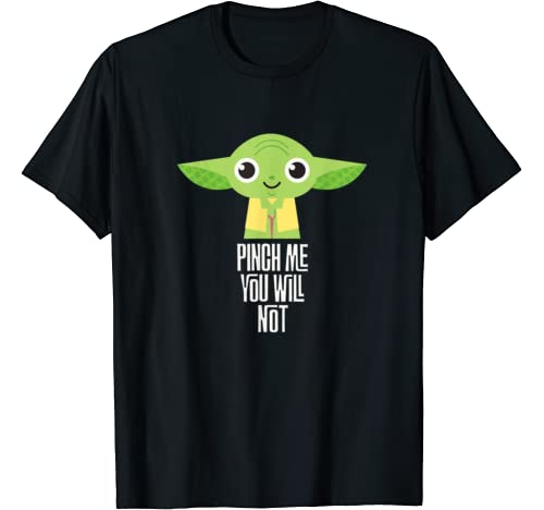 Star Wars Yoda Pinch Me You Will Not St. Patrick's Day T Shirt