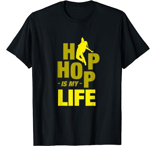 Hip Hop Is My Life Break Dance Urban Graffiti Bboy Dj Gift T Shirt
